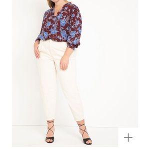 NWT Eloquii sz 20 Blouse - New and Gorgeous!